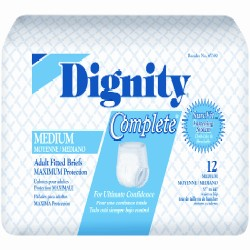 Dignity Conplete Overnight Adult Fitted Briefs HI45390