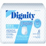 Dignity Complete Overnight Adult Fitted Briefs HI45390