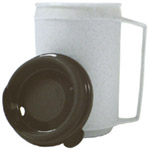 Weighted Insulated Mug w/No-Spill Lid Ke160211