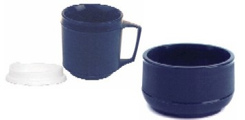 Weighted Insulated Bowl & Cup Set KE160401