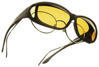 Low Vision Cocoons Fit Over Sunglasses C202LV