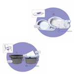 Cleanis Care Bag Disposable Bed Pan or Elongated Commode Liners CM77111