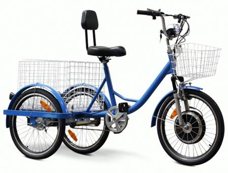 Electric Bikes 3 Wheels Adult Three Wheel Electric