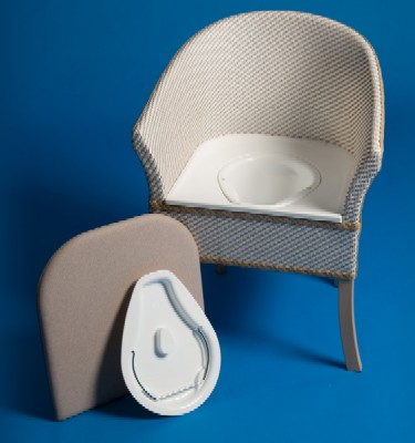 Derby Basketweave Commode Chair Boomerstore